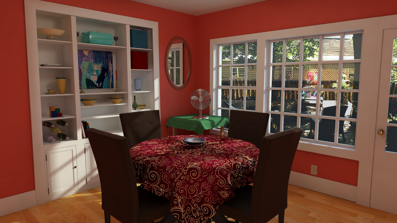3D model of my dining room