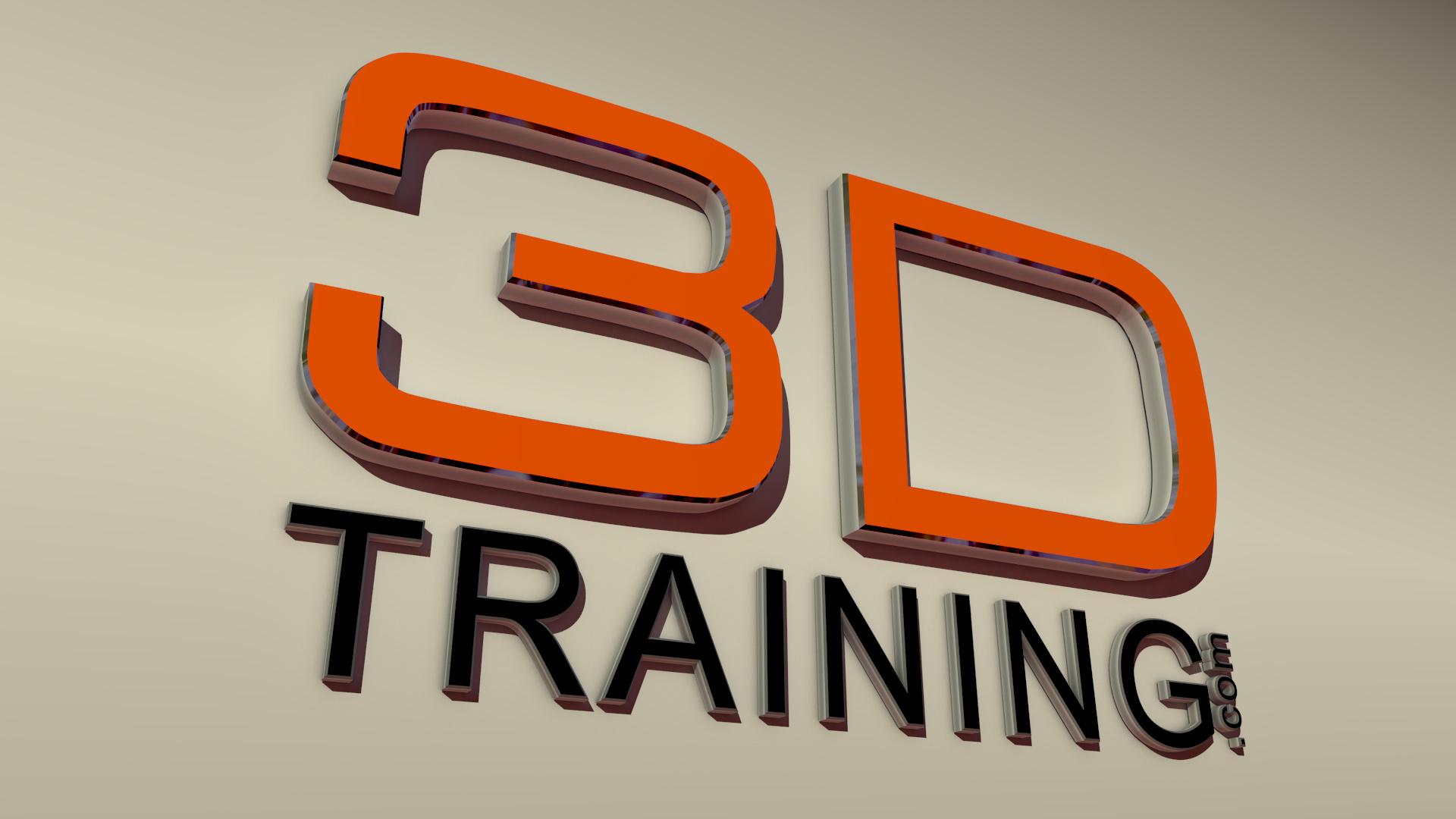 3D logo model