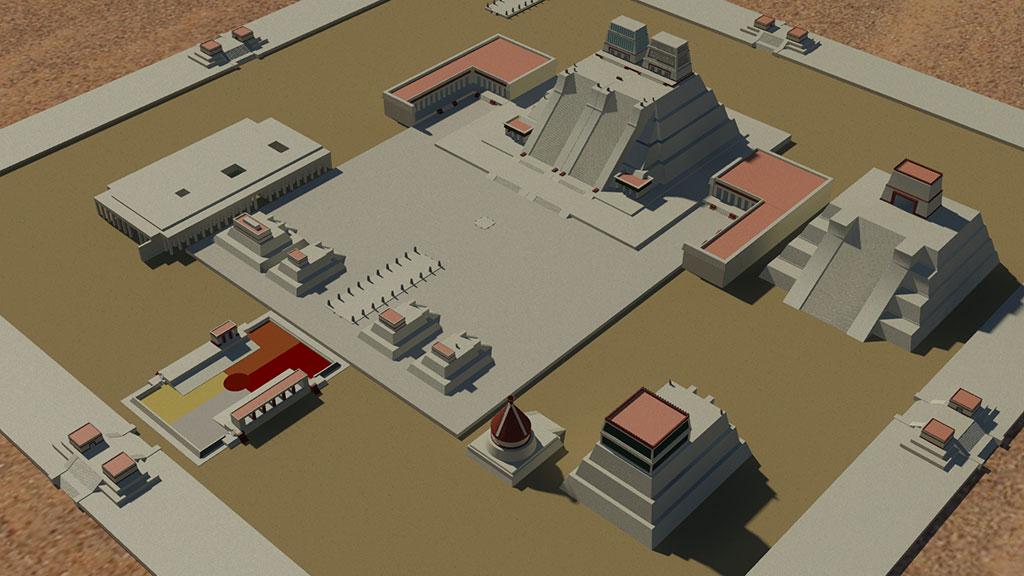 Tenochtitlan Precinct
