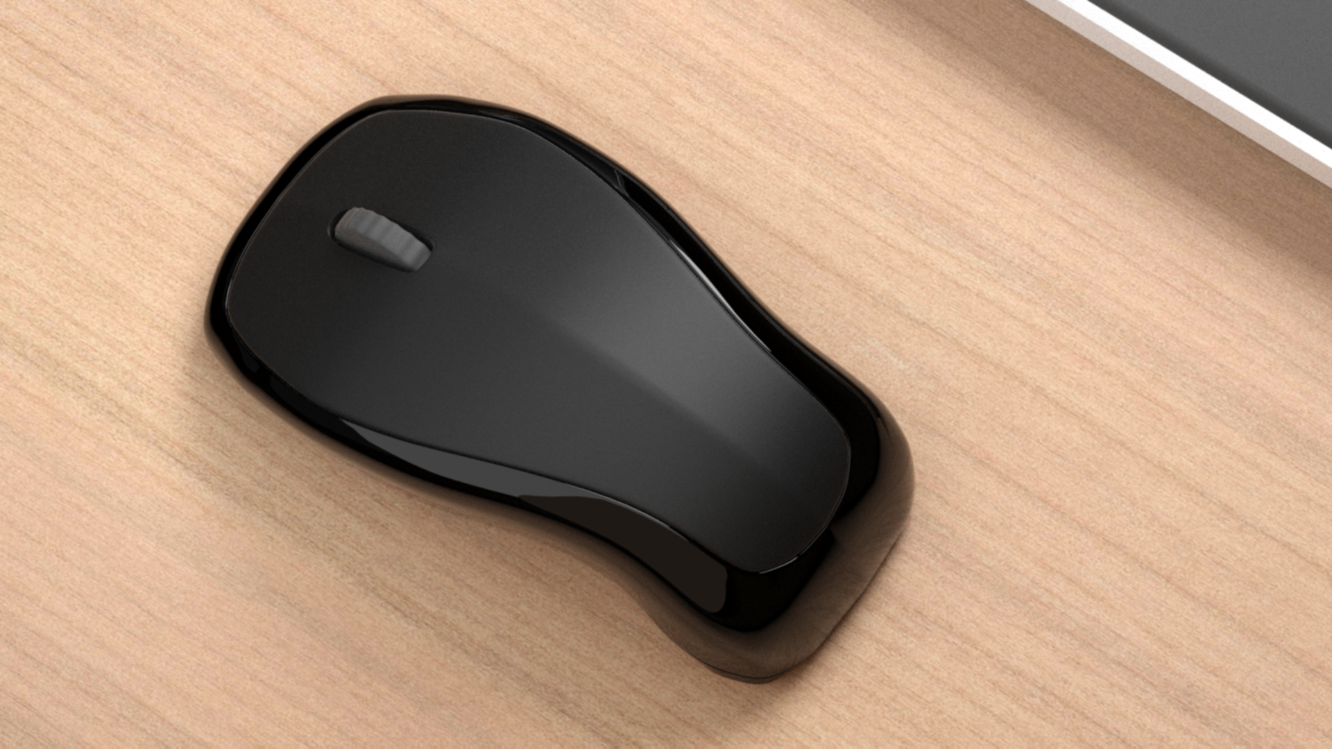 3 hour mouse, top view